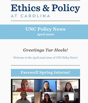 Policy News Newsletter