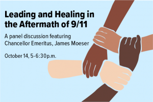 Leading and Healing in the aftermath of September 11: Discussion held on October 14 2021 at 5 p.m.